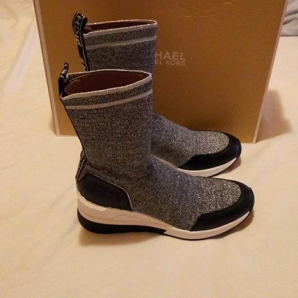 michael kors grover knit sneaker